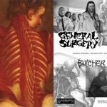 General Surgery / Butcher ABC split CD flyer