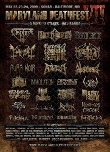 Maryland Deathfest, Baltimore USA, May 23rd 2009