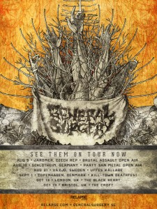 Tour poster 2012