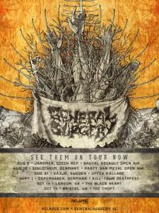 Tour poster 2012