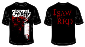 GS - I Saw Red tee