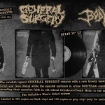 "General Surgery/Bodybag split 12"" LP"